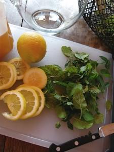 lemon mint tea one