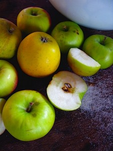Heirloom Apples for Apple Squares