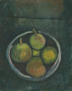Klee Still Life with Four Apples 1909