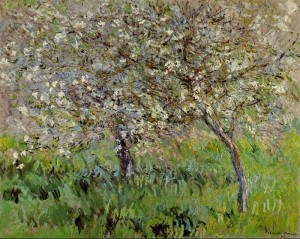 Monet Apple Trees in Bloom