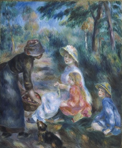 Renoir - The Apple Seller, 1890