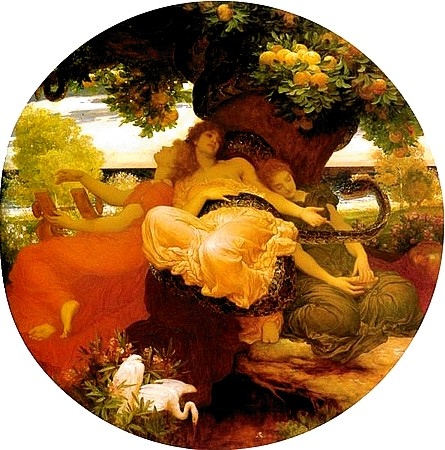The Garden of the Hesperides, Lord Frederick Leighton, 1892