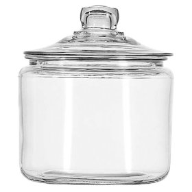 Anchor Hocking 3 Quart Apothocary Jar w:lid