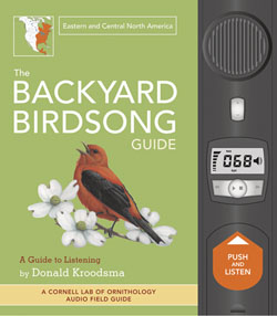 Backyard Birdsong Book Eastern and Central