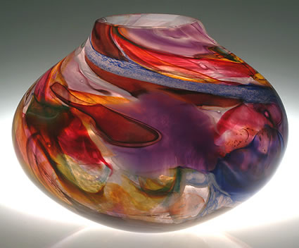 solinglass-shard-series-bowl 8 x 10 x 10 inches shards