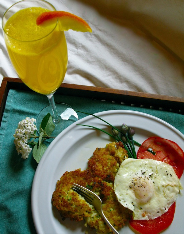 mother's day brunch? garden fresh ingredients & ina garten's chive