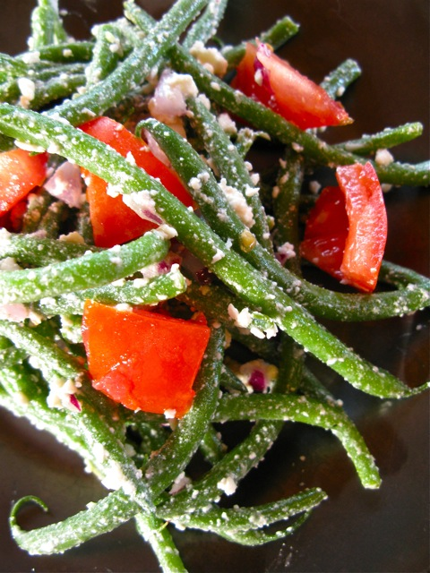 Haricots Verts: Chilled Green Bean Salad with Feta… The Gardener's ...