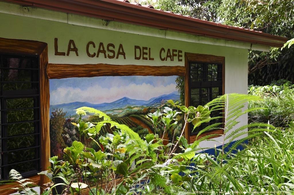 La Casa Del Cafe - Finca Rosa Blanca - ⓒ 2013 Michaela Medina Harlow - thegardenerseden