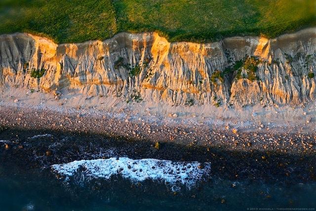 Mohegan Bluffs - Block Island - Rhode Island - michaela medina harlow - thegardenerseden.com