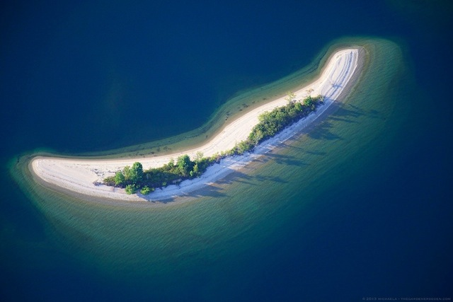 Tiny Island ll, Quabbin Reservoir, Massachusetts - michaela medina harlow - thegardenerseden.com