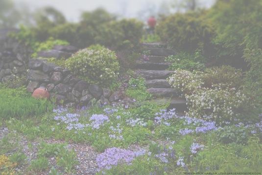 Spring Garden Design, copyright, michaela m harlow, thegardenerseden.com, all rights reserved