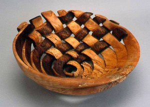 Michelle Holzapfel, Black and White Bowl, 2003,Contemporary Museum HI