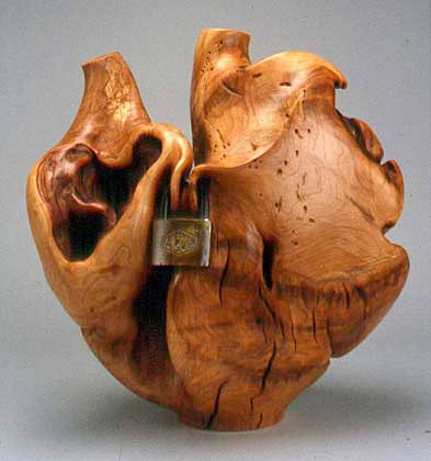 Michelle Holzapfel, Lockhart, 2002, maple burl