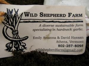 Wild Shepherd Farm Card