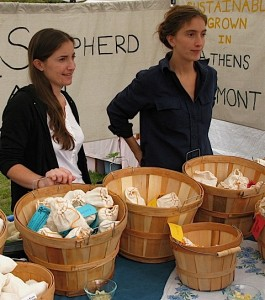Wild Shepherd Farmstand at the Garlic Festival