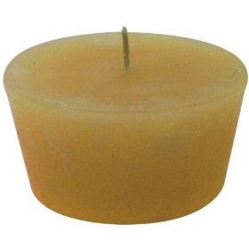 1 natural floating votive candle