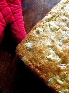 Heirloom Apple Squares in pan