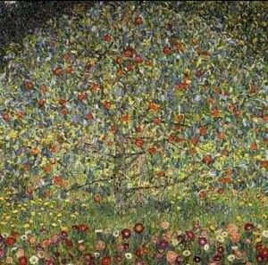 Klimt Apple Tree I