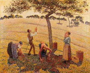 Pissaro, Apple Picking 1888