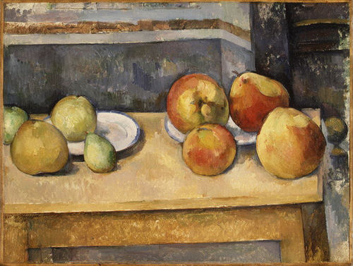 cezanne, still life with apples and pears, 1891-2