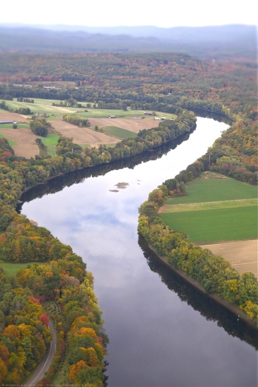 Connecticut River, Autumn - copyright 2013 - michaela medina harlow - thegardenerseden.com